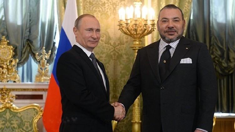 الملك محمد السادس يدعو الرئيس بوتين لزيارة المغرب