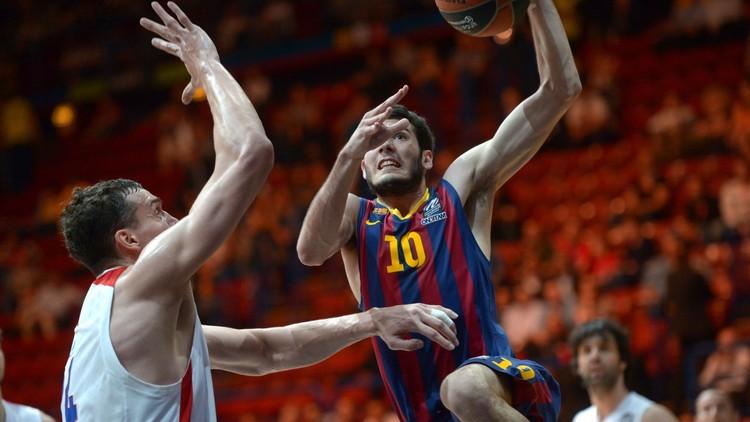 برشلونة يسقط أمام تسيسكا موسكو في