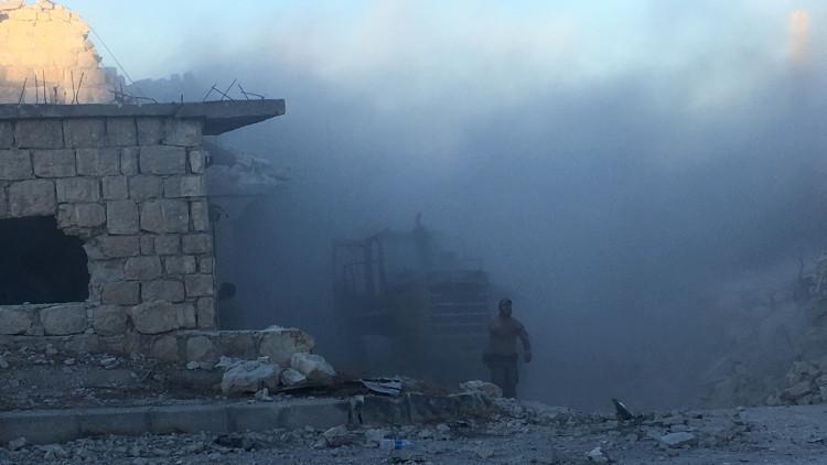 دمشق تقدم أدلة على استخدام المسلحين لغاز الخردل