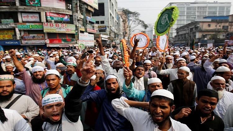 بنغلادش تمنع مسيرة مؤيدة للروهينغا من التوجه إلى الحدود مع بورما