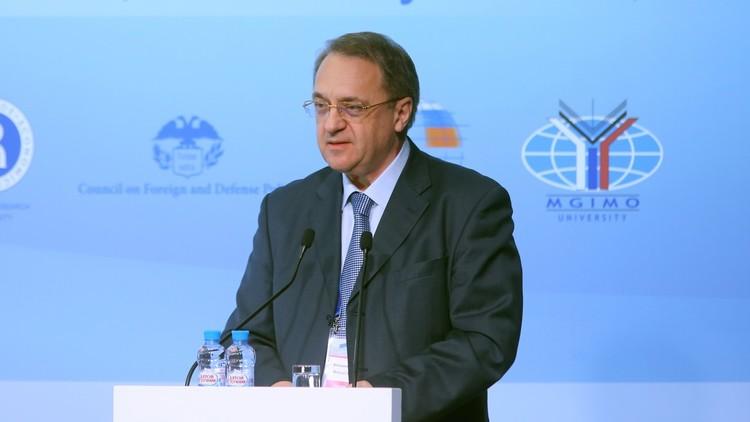 بوغدانوف: استئناف المفاوضات السورية شيء واقعي تماما