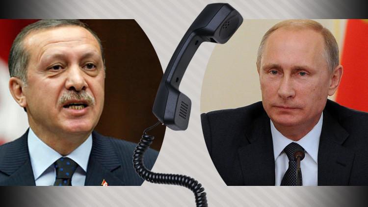 بوتين وأردوغان يبحثان إجراء المفاوضات بين الحكومة السورية والمعارضة في أستانا