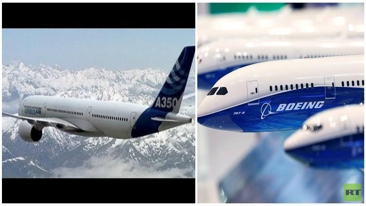 موسكو وبكين تطلقان طائرات منافسة لـ