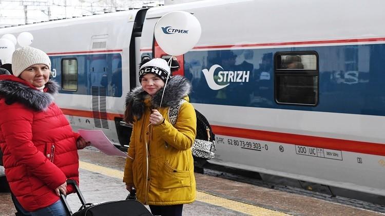 إطلاق أول قطار سريع يصل موسكو ببرلين