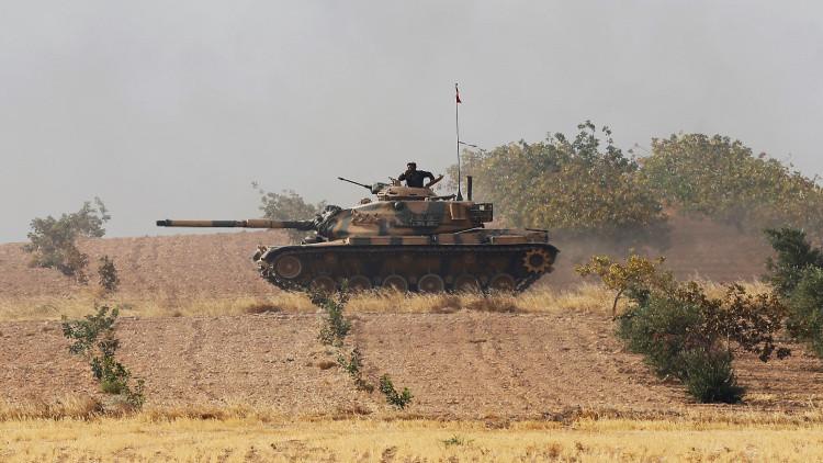 الجيش التركي يعلن تدمير 208 أهداف لـ
