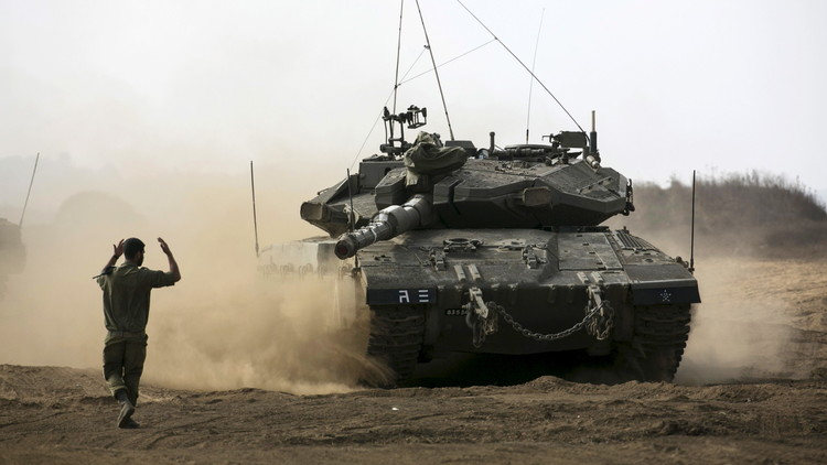تبادل لإطلاق النار على حدود قطاع غزة