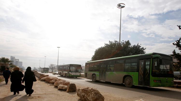 هدوء نسبي على عديد الجبهات في سوريا وتواصل عمليات الإجلاء