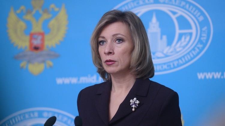 زاخاروفا: السفير كارلوف ساهم كثيرا في التسوية السورية