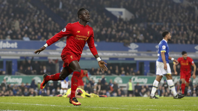 هدف قاتل من السنغالي ماني يحسم قمة ليفربول مع إيفرتون
