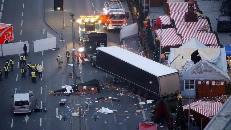 هجوم برلين.. المنفذ لا يزال طليقا وحصيلة الضحايا ترتفع إلى 12 شخصا