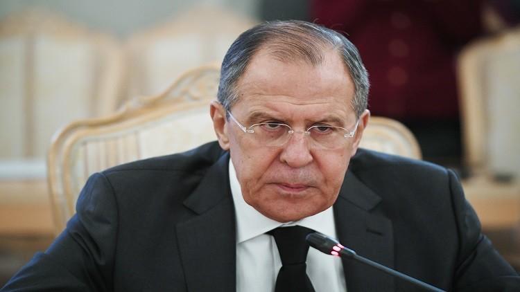 لافروف: مأساة قتل السفير الروسي تجبرنا على مكافحة الإرهاب بحزم أكبر