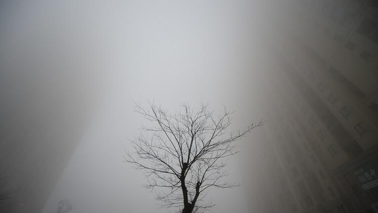 الصين تعيش أسوأ موجة ضباب دخاني في العام 2016