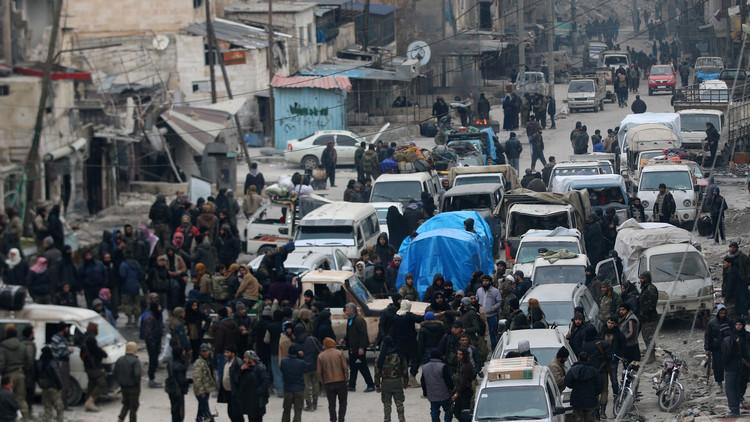 أنقرة: إجلاء 37500 شخص من حلب