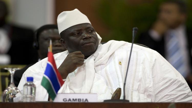 رئيس غامبيا رافضا التنحي: لا أحد يستطيع أن يحرمني من الانتصار إلا الله