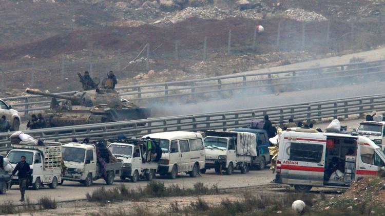 اشتباكات على أكثر من جبهة في سوريا بانتظار إتمام عمليات الإجلاء من حلب