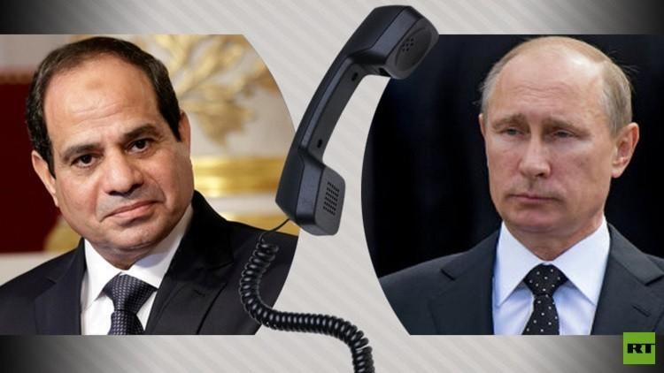 الكرملين: بوتين ناقش مع السيسي هاتفيا الموضوع السوري ومحاربة الإرهاب