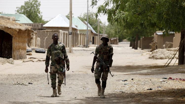 جيش نيجيريا يحرر 1880 مدنيا من قبضة
