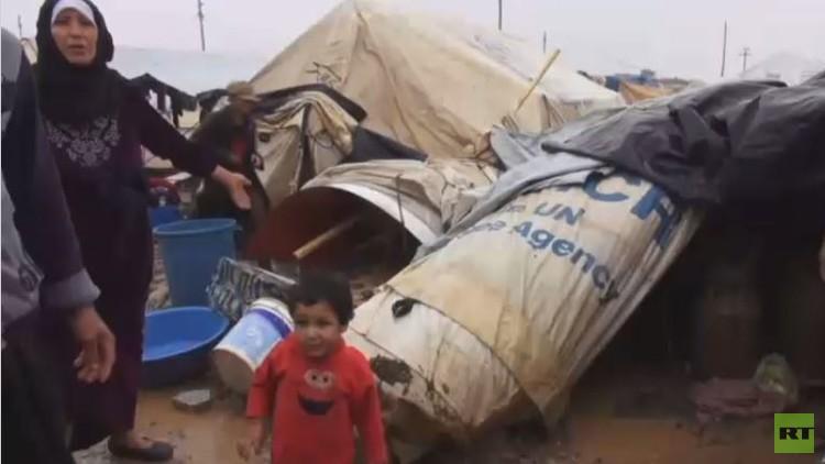 نداءات استغاثة من مخيم عربت للنازحين بالسليمانية