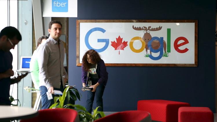 موظف غوغل يرفع قضية ضد الشركة بسبب