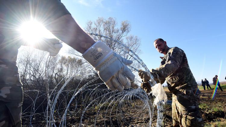 رئيس سلوفينيا يدعو إلى إزالة السياج الشائك المعيق للمهاجرين