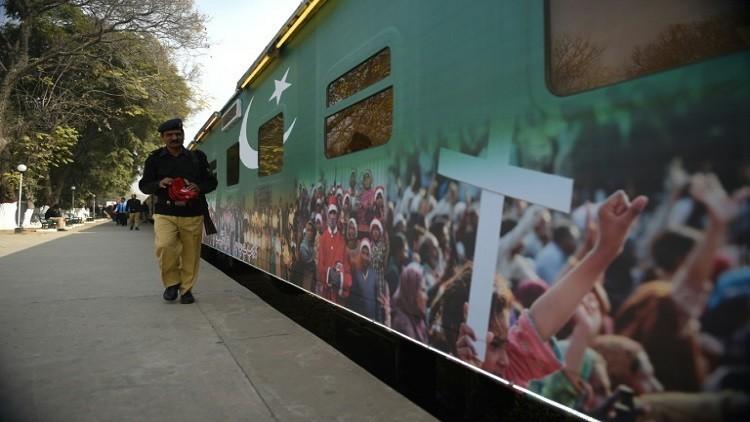 قطار مسيحي ينشر التسامح في باكستان