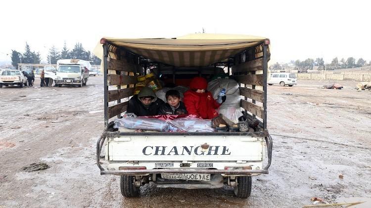 الصليب الأحمر: عملية الإجلاء من حلب أنجزت