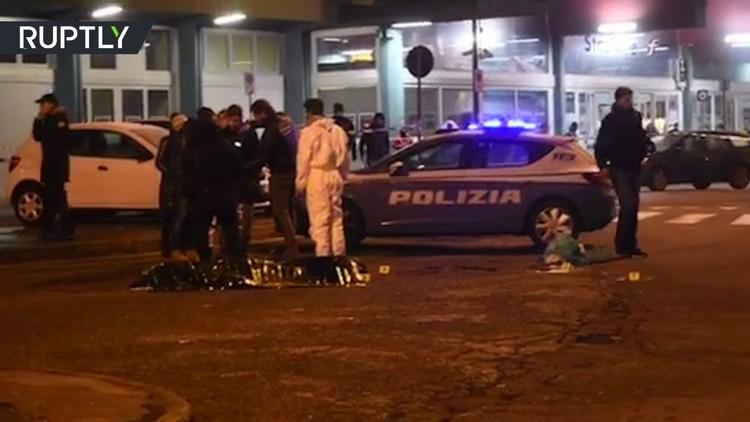 اللقطات الأولى بعد مقتل العماري على يد الشرطة الإيطالية