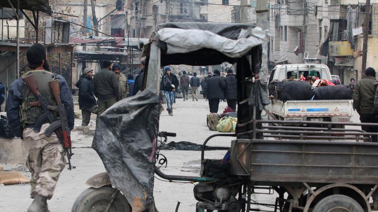 مقتل 3 مدنيين بهجوم صاروخي للمسلحين على مدينة حلب