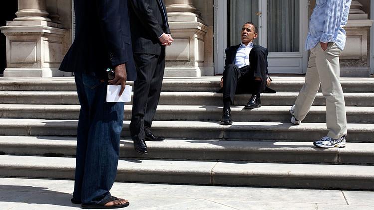 حياة باراك أوباما غير الرسمية بالصور