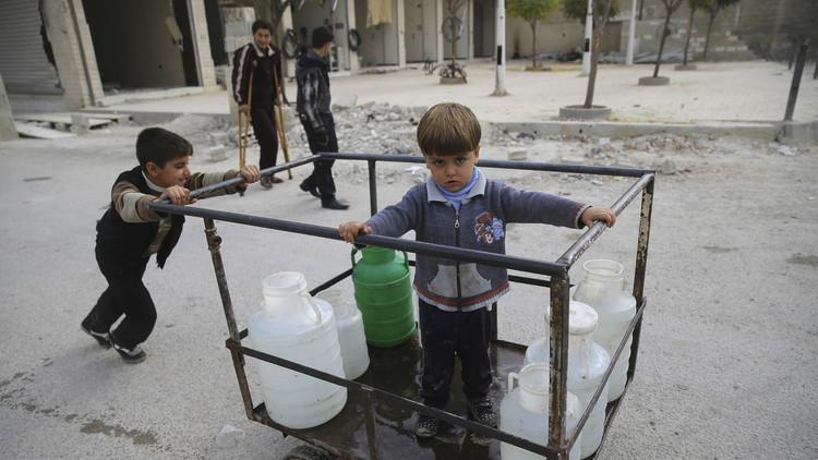 مسلحون يلوثون مياه دمشق