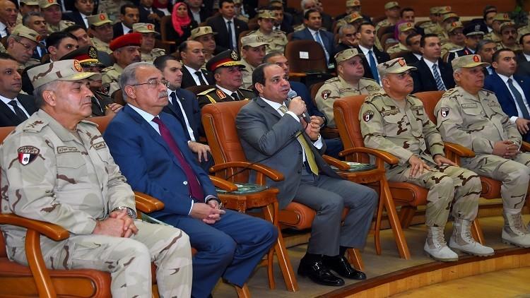 السيسي يكشف حجم مشاركة القوات المسلحة في الاقتصاد