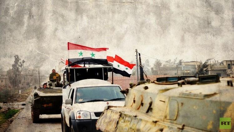 سوريا.. عمليات تمشيط للجيش في حلب وإحباط هجوم لداعش في حمص