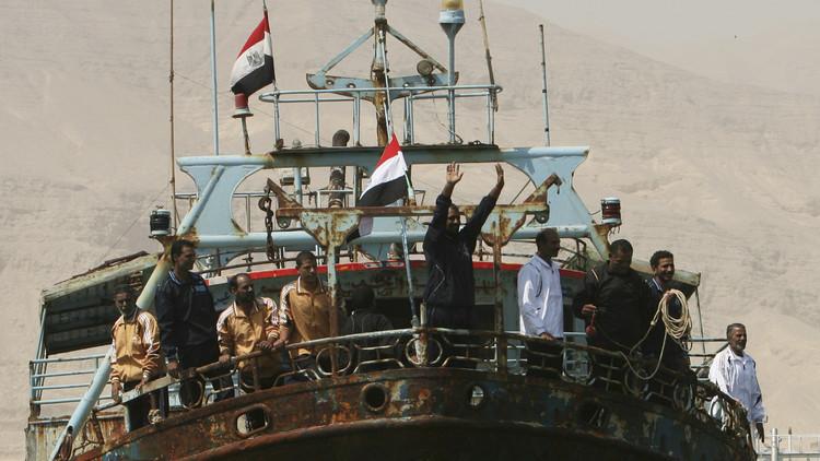 إطلاق سراح 49 صيادا مصريا في اليمن