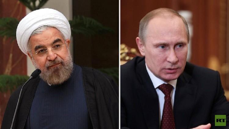 بوتين وروحاني يؤكدان في اتصال هاتفي أن الجهود المشتركة لتحرير حلب هي انتصار على الإرهاب العالمي