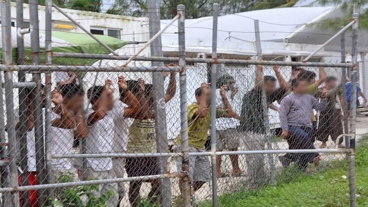 اضطرابات في مركز لاحتجاز المهاجرين في أستراليا