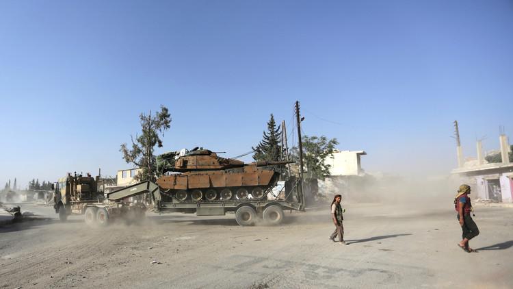 مقتل 30 مدنيا في الباب السورية بهجوم