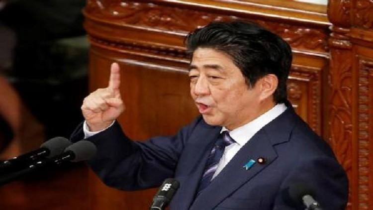 آبي يقول إن اليابان لن تكرر أبدا فظائع الماضي