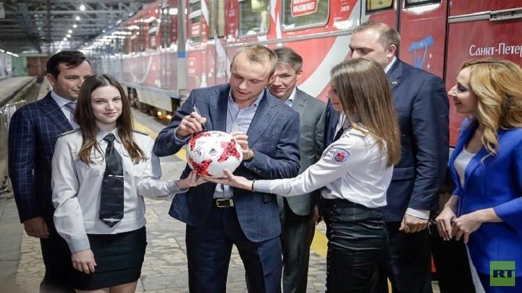 ظهور معالم  كأس القارات 2017  في المدن الروسية