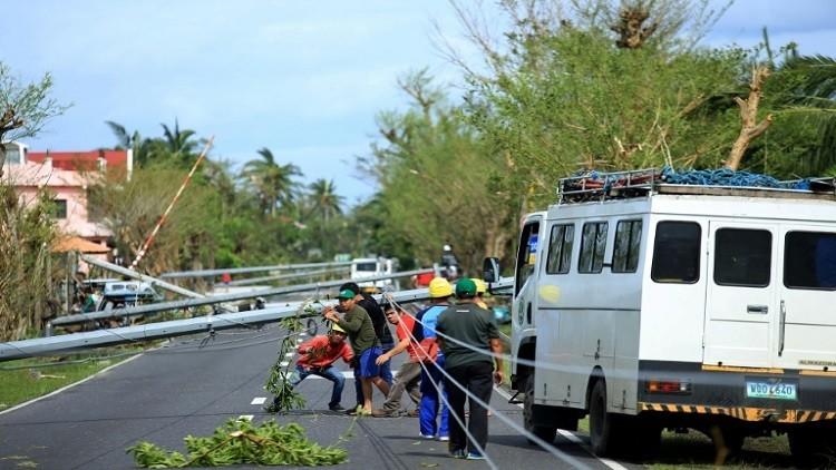 6 قتلى  و18 مفقودا بإعصار