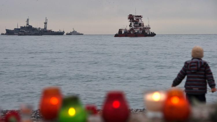 تحديد هوية 70 شخصا من ضحايا تحطم الطائرة الروسية في البحر الأسود