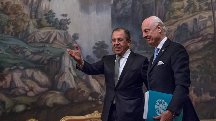 دي ميستورا يشارك في تنفيذ اتفاق الهدنة بسوريا