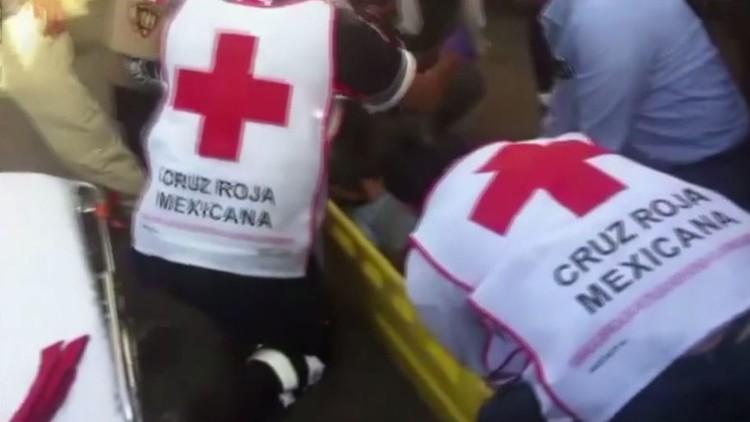 لحظة مقتل مسن أثناء سباق خيول أقيم للاحتفال بعيد ميلادفتاة مكسيكية