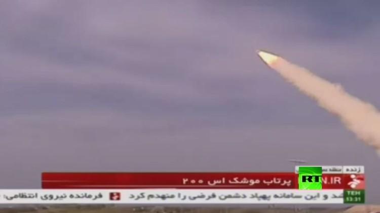 إيران.. اختبار صاروخ  إس-200