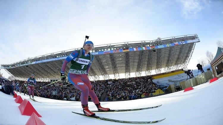إيقاف البطلة الأولمبية الروسية فيلوخينا