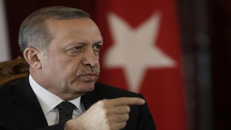 أردوغان يتهم الغرب بدعم التنظيمات الإرهابية