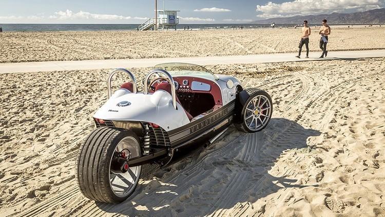 رودستر ثلاثية العجلات تنتج في الولايات المتحدة