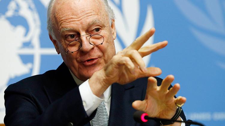 دي ميستورا يرحب باتفاق الهدنة في سوريا