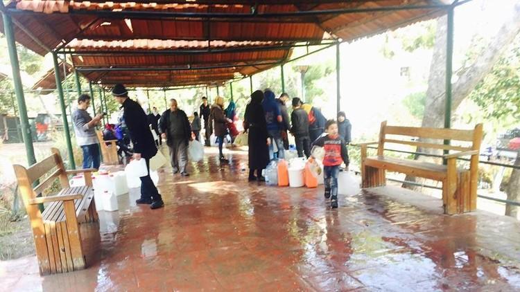 الأمم المتحدة تعلق لأول مرة على انقطاع المياه عن دمشق