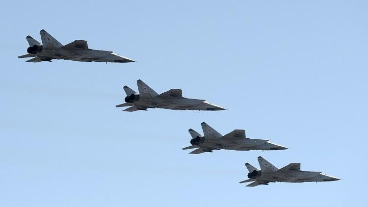 مناورات عسكرية روسية لتنسيق العمليات بين طائرات