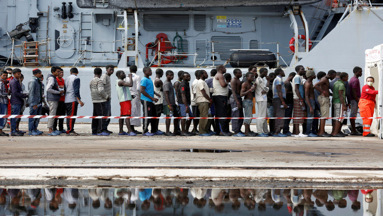 حزب ألماني يدعو إلى إرسال اللاجئين القادمين عبر المتوسط إلى إفريقيا